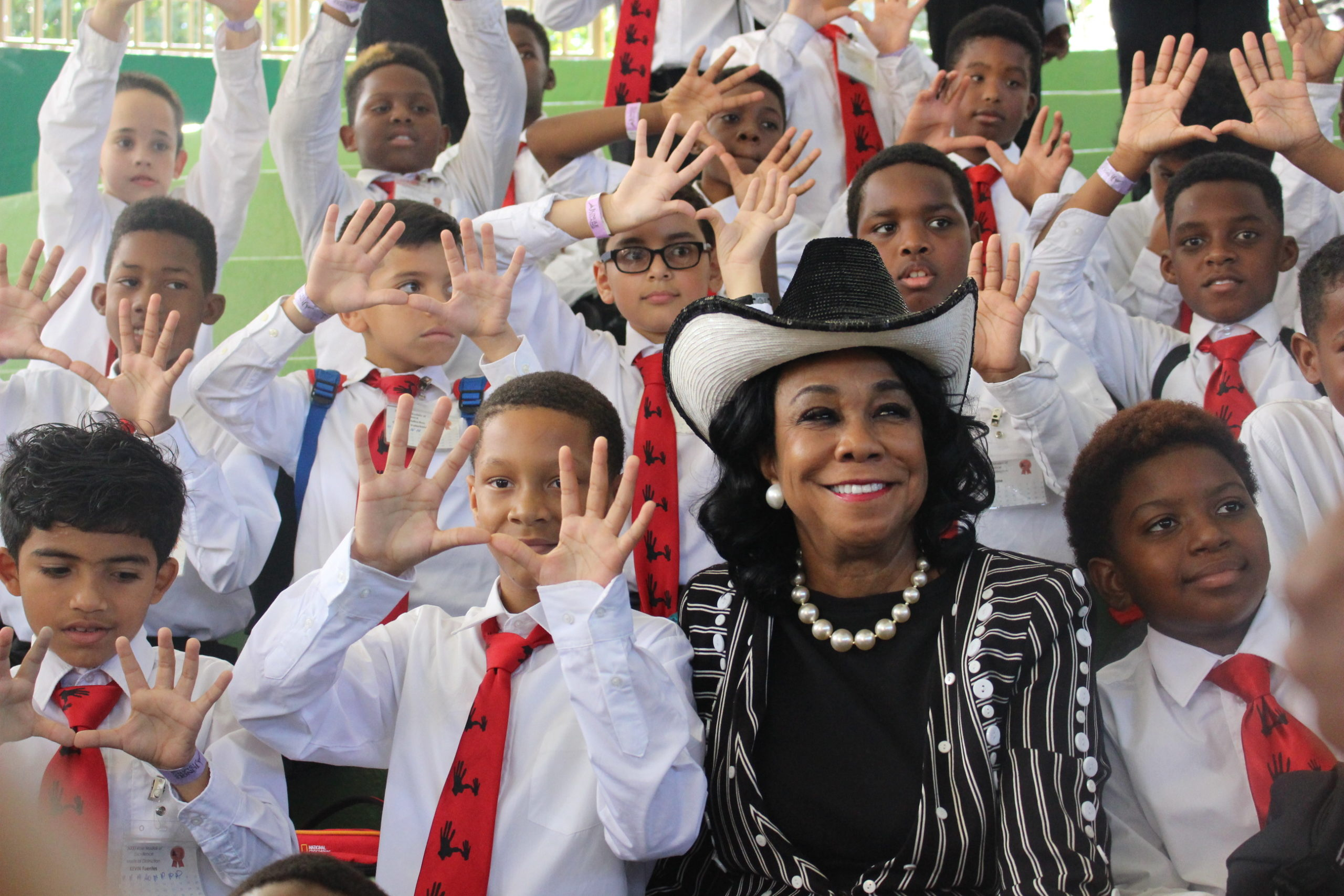 Spotlight on Community Partner -  Congresswoman Frederica Wilson and the 5000 Role Models of Excellence, Miami, FL