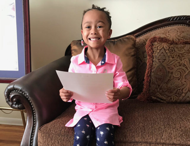 Asked and Answered: Five-year-old tells President Obama she can't wait to visit the Obama Presidential Center