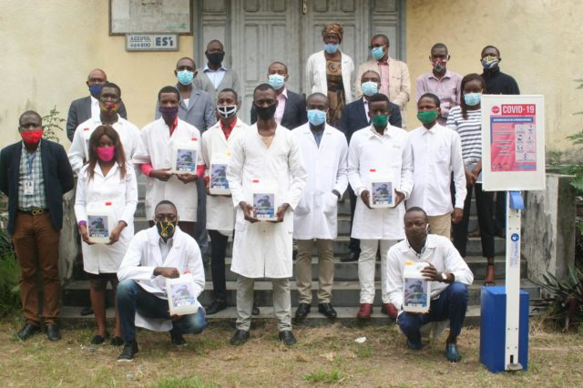 In the Republic of Congo, Leaders Help Manufacture and Distribute Hand Sanitizer