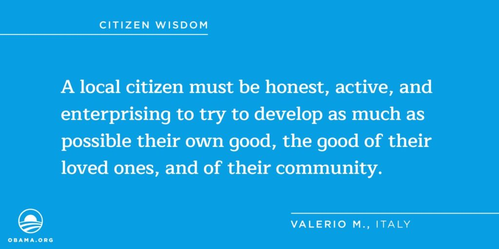 citizen wisdom