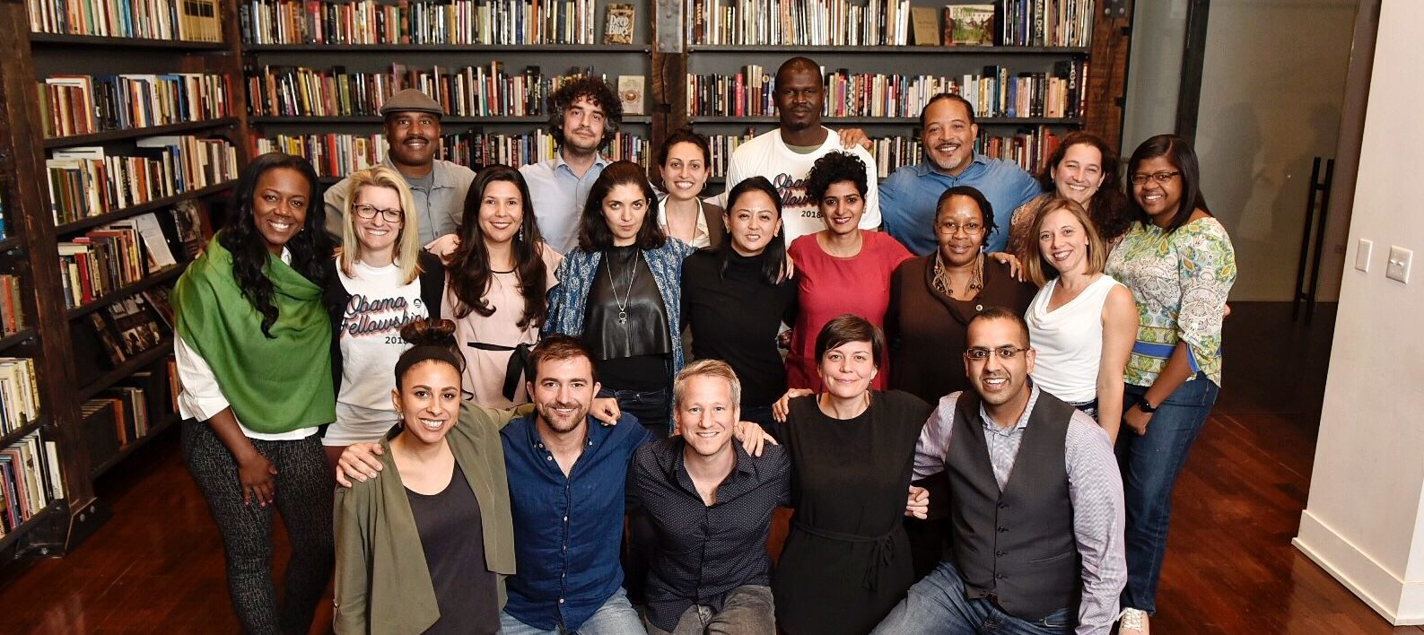 The 2018 Class of Obama Foundation Fellows gathered in Chicago to meet for the first time.