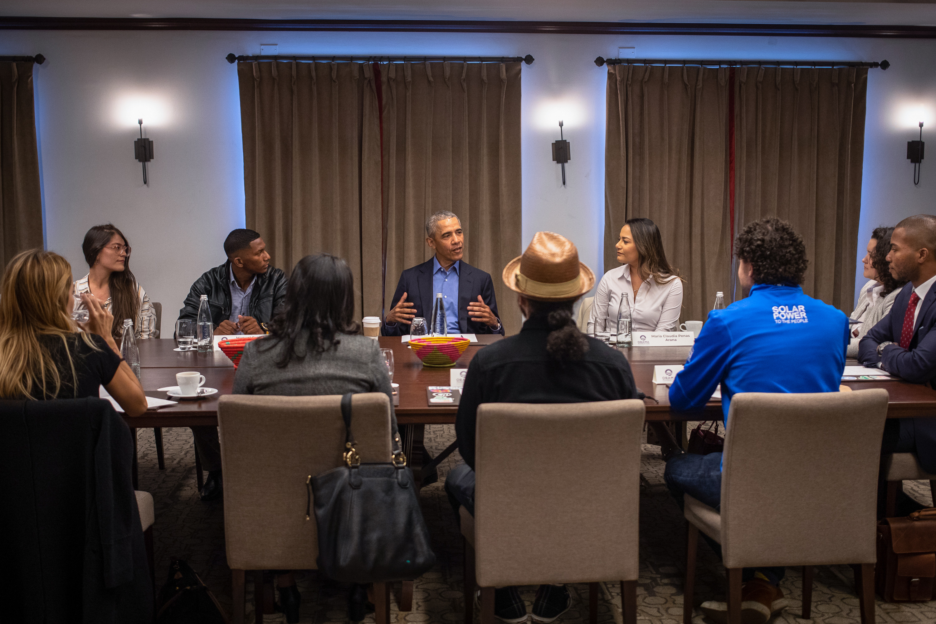Meet the 11 Emerging Leaders who Joined President Obama for a Conversation in Bogotá