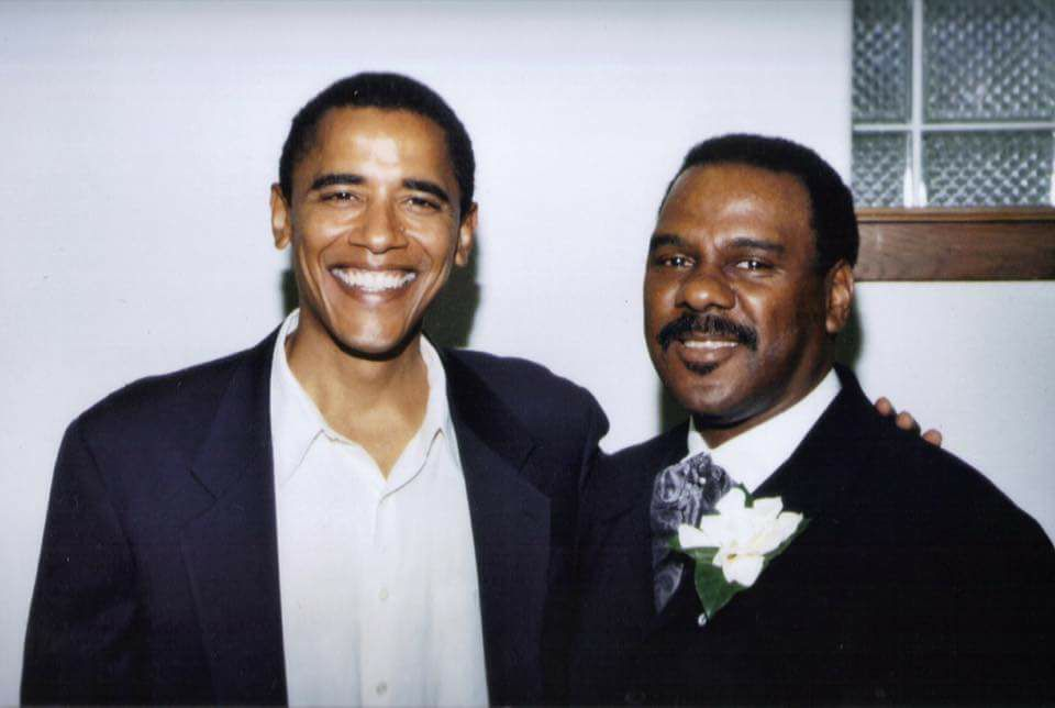 President Obama and Reverend Alvin Love
