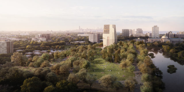 New Obama Presidential Center Renderings Released at the 2019 Summit!
