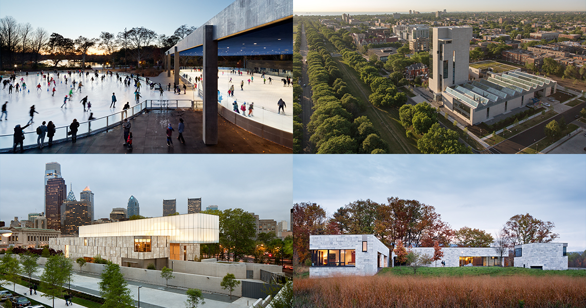 A selection of past works by Tod Williams Billie Tsien Architects | Partners