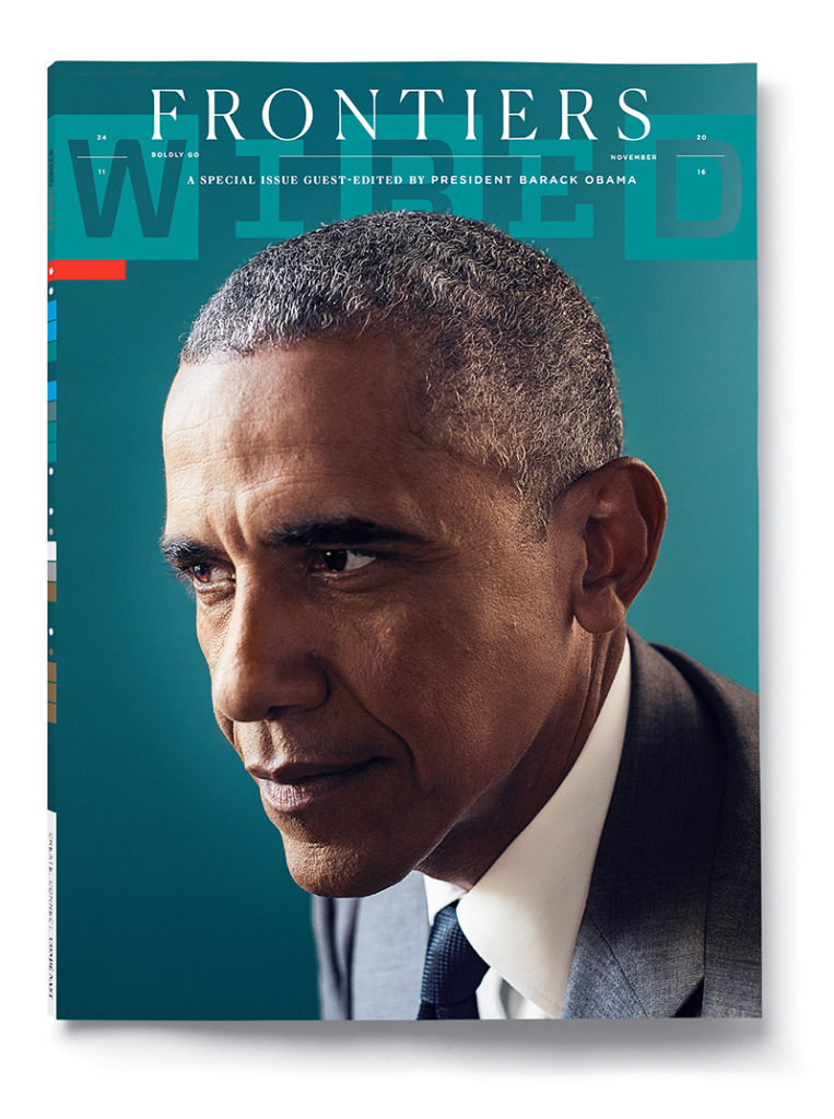 WIRED Magazine cover November 2016